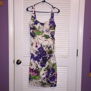 Flower Print New Directions Dress